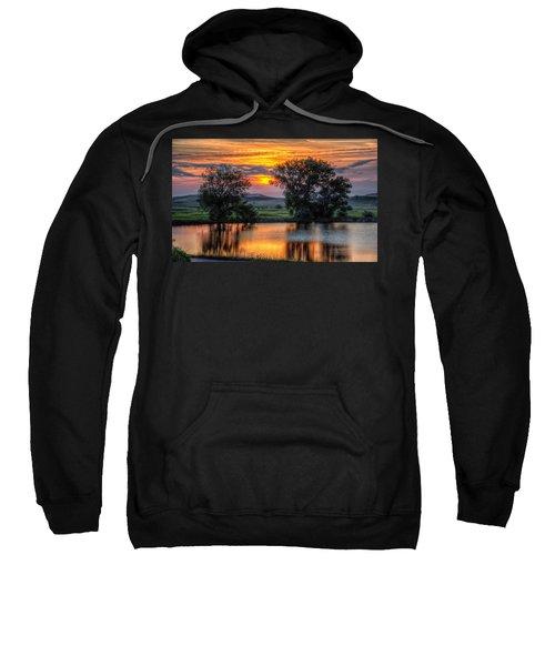 Golden Pond At 36x60 Sweatshirt
