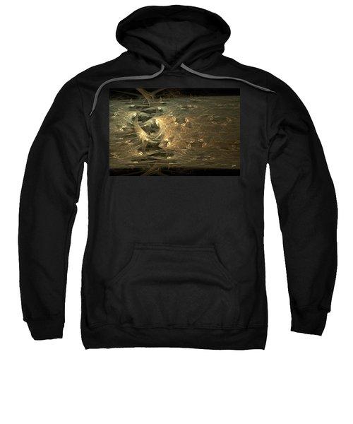 Golden Soul - Modern Abstract Art Sweatshirt