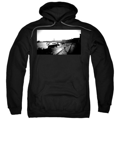 Grand Canal At Sunset Sweatshirt