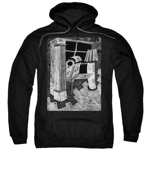 Grandfather Clock Sweatshirt