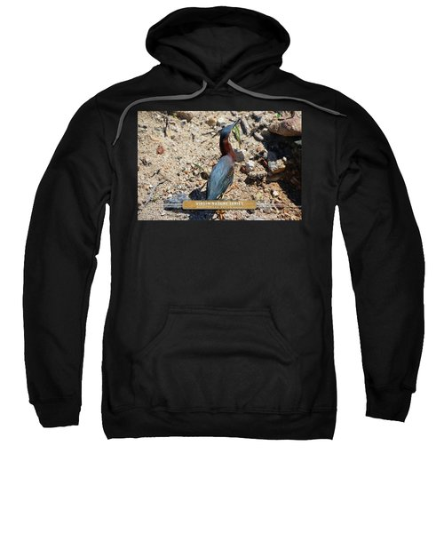 Green Heron Strut - Virgin Nature Series Sweatshirt