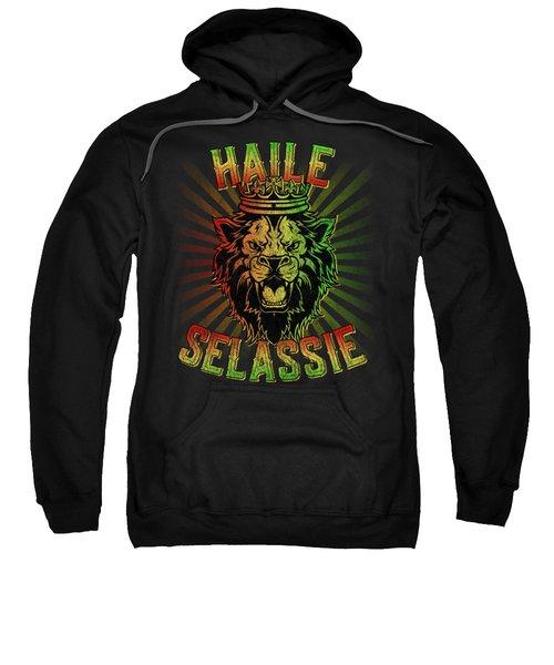 Haile Selassie Jah Rastafari Sweatshirt