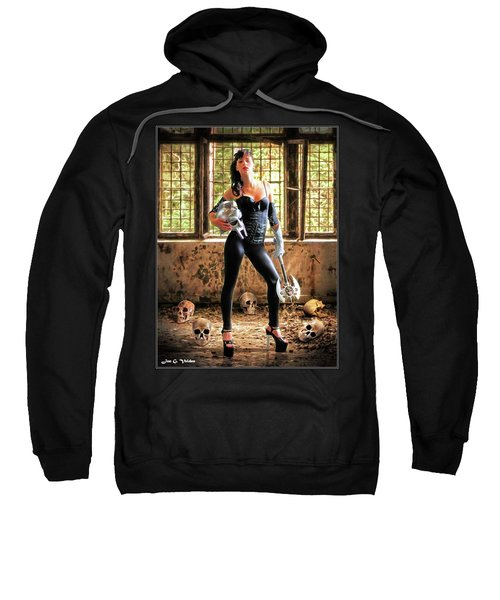 High Heeled Zombie Slayer Sweatshirt
