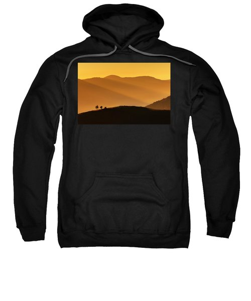 Sweatshirt featuring the photograph Holy Mountain by Evgeni Dinev
