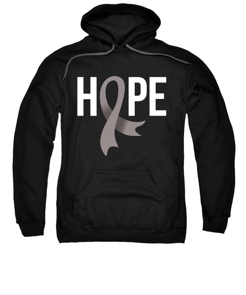 Hope Brain Cancer Sweatshirt