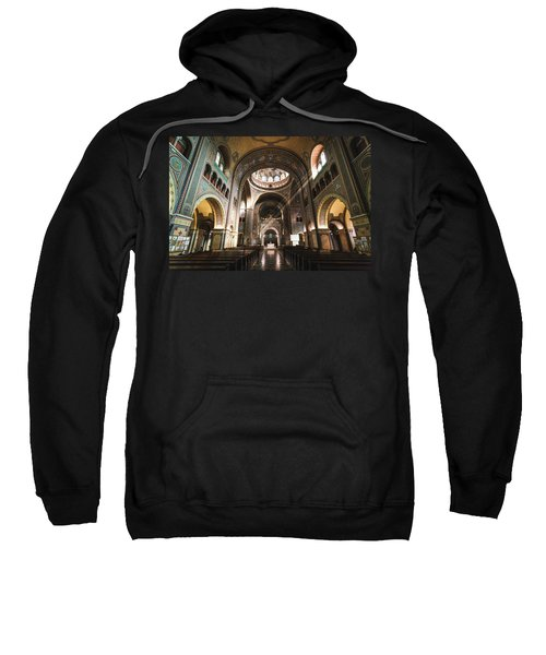 Interior Of The Votive Cathedral, Szeged, Hungary Sweatshirt
