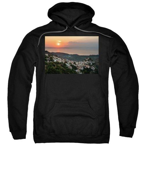 Ioulis Town Sunset, Kea Sweatshirt