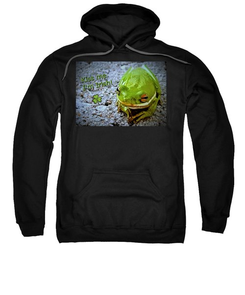 Irish Frog Sweatshirt