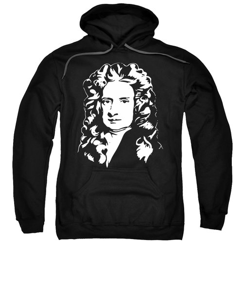 Isaac Newton Minimalistic Pop Art Sweatshirt