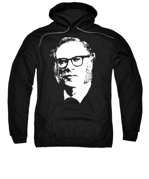 Isac Asimov Minimalistic Pop Art Sweatshirt