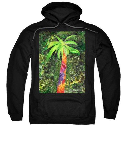 Island Jubilee Mixed Media Art Sweatshirt