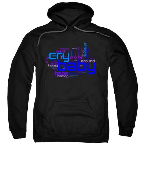 Janis Joplin - Cry Baby Lyrical Cloud Sweatshirt