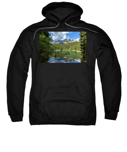 Karersee And Rosengarten Group Sweatshirt
