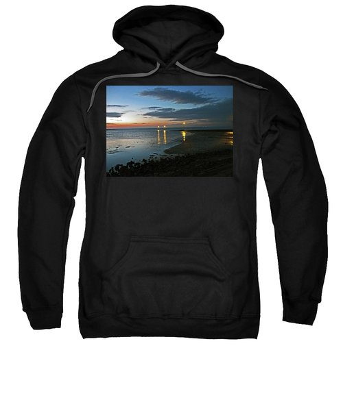 Lancashire. Knott End. Sunset.. Sweatshirt