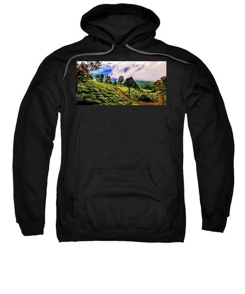 Green Landscape Sweatshirt
