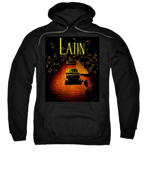 Latin Guitar Music Notes Sweatshirt
