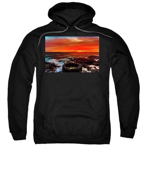 Lava Bath After Sunset Sweatshirt