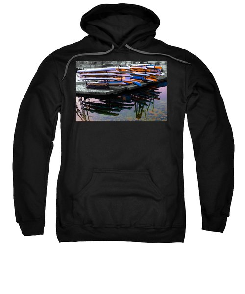 Layers And Layers By The Water Sweatshirt