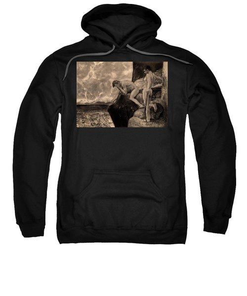Liberation Of Prometheus By Hercules, The Freed Prometheus, 1894 Sweatshirt