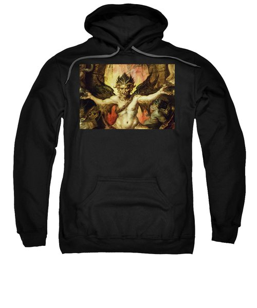 Mankind's Eternal Dilemma, The Choice Between Virtue And Vice - Devil Sweatshirt