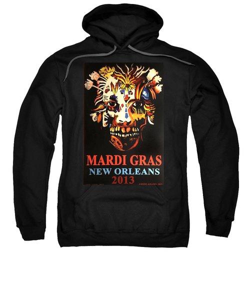 Mardi Gras Spirit 2013 Sweatshirt