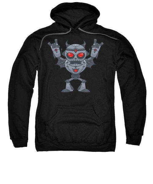 Metalhead - Heavy Metal Robot Devil Sweatshirt
