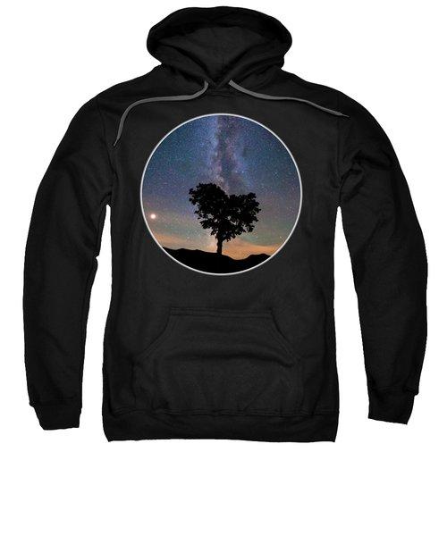 Milky Way Heart Tree Circle Sweatshirt