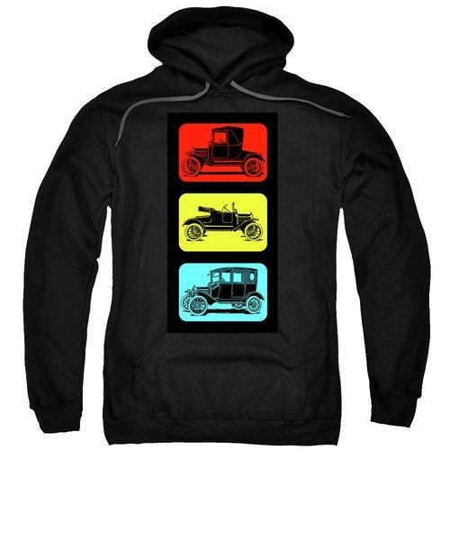 Model T Ford Triple Sweatshirt