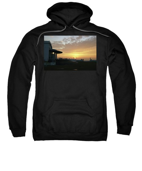 Morecambe. Evening On The Bay Sweatshirt