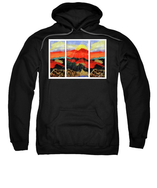 Morning's Promise Triptych Sweatshirt