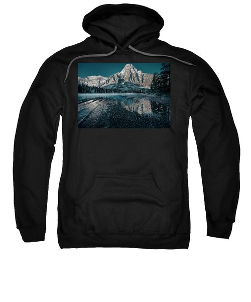 Mount Chephren Reflected Sweatshirt