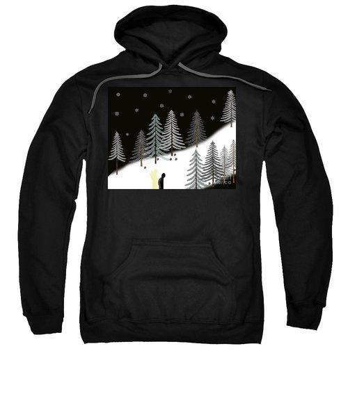 Never Alone Sweatshirt