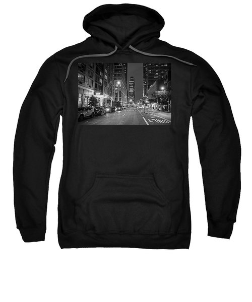 New York City Gotham West Market New York Ny Black And White Sweatshirt
