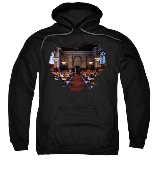 New York City Public Library Rose Reading Room Sweatshirt