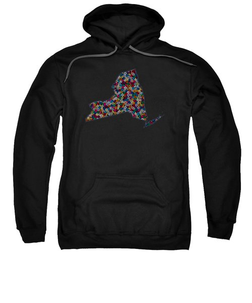 New York Map - 2 Sweatshirt