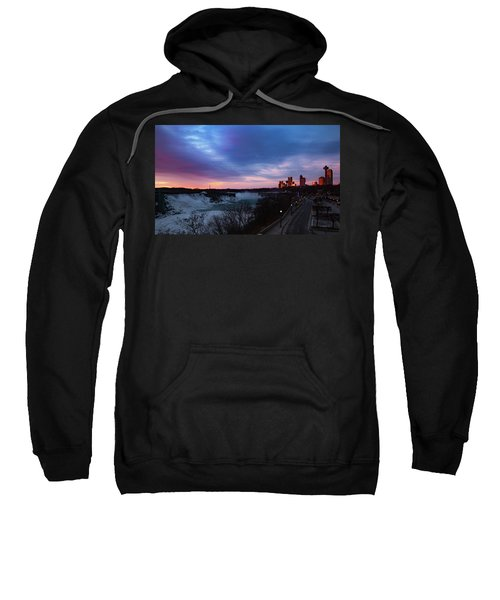 Niagara Falls At Sunrise Sweatshirt