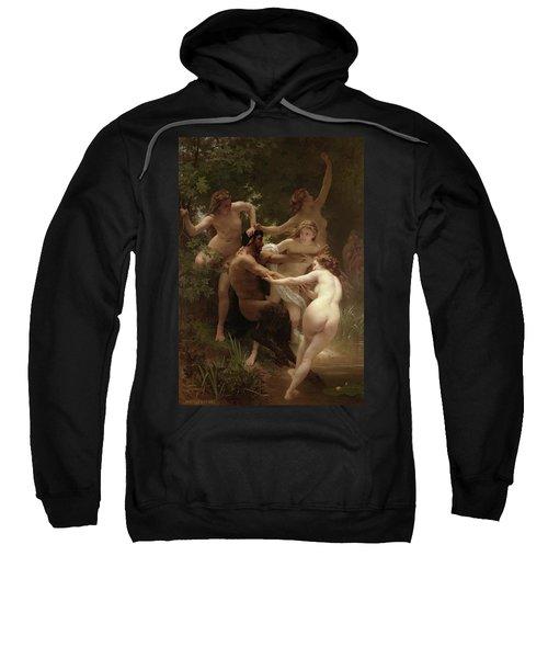 Nymphs And Satyr, 1873 Sweatshirt