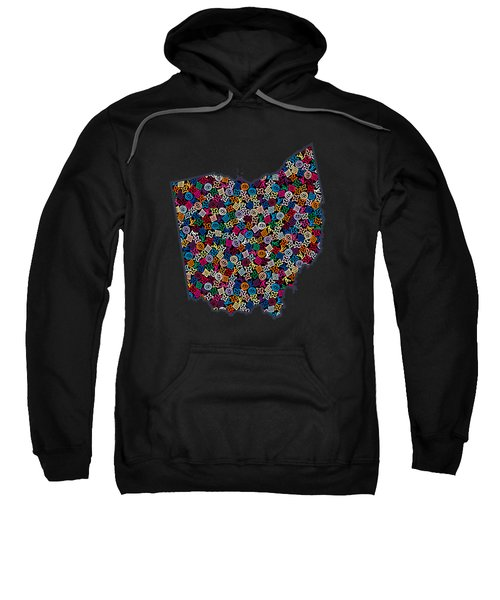 Ohio Map - 2 Sweatshirt