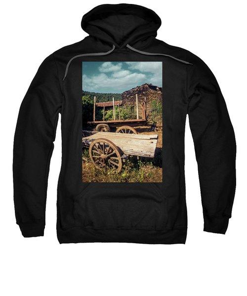 Old Abandoned Wagons Sweatshirt