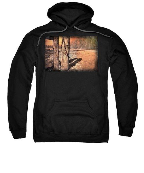 Open Locked Sweatshirt