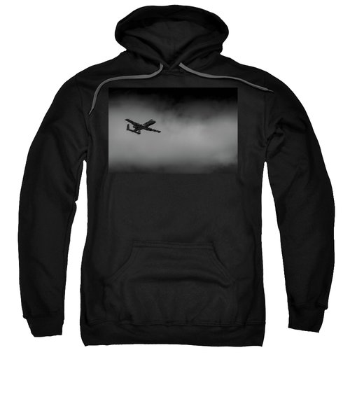 Out Of The Clouds - A-10c Thunderbolt Sweatshirt