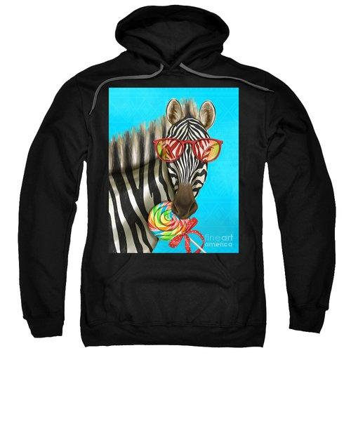Party Safari Zebra Sweatshirt