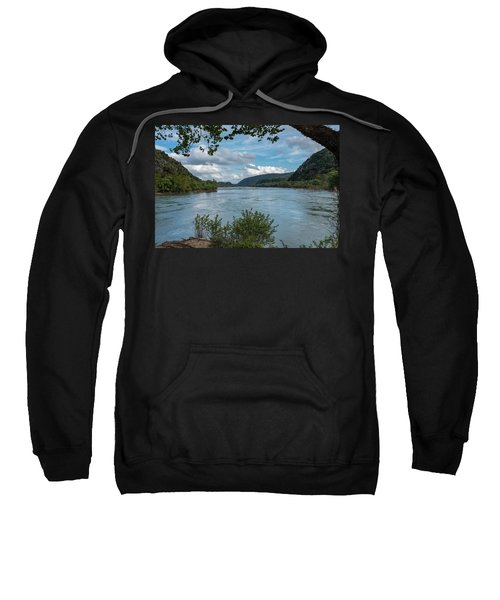 Potomac River At Harper's Ferry Sweatshirt
