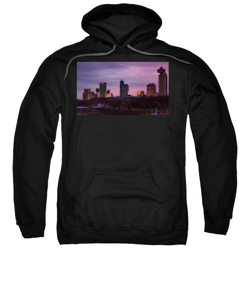 Purple Haze Skyline Sweatshirt