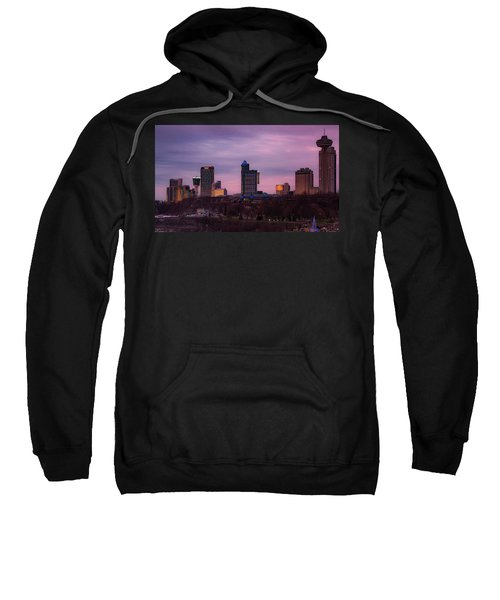 Purple Haze Skyline Sweatshirt