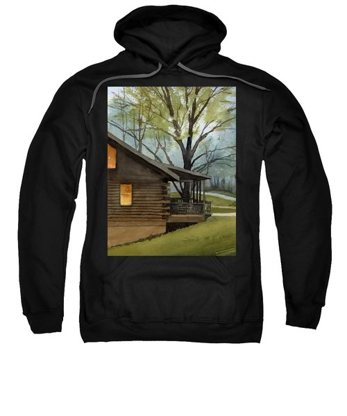 Rainy Day At Harmonie Park Sweatshirt