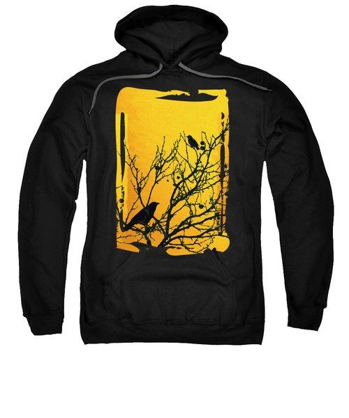 Raven - Black Over Yellow Sweatshirt