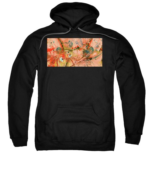 Red Abstract Art - Ready For Anything - Sharon Cummings Sweatshirt