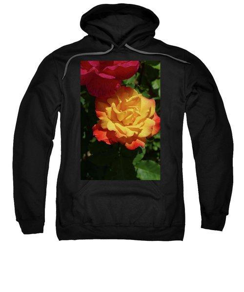 Red And Yellow Rio Samba Roses Sweatshirt