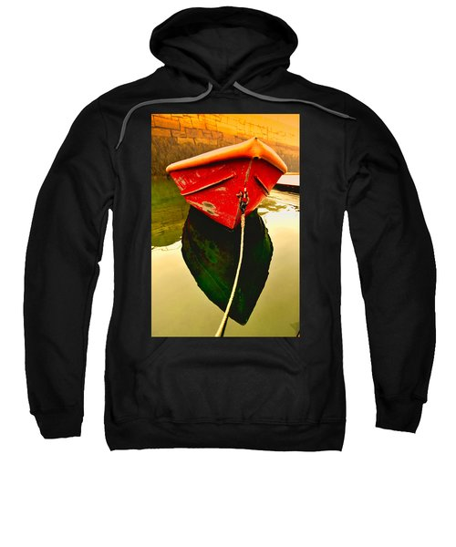 Red Boat Sweatshirt